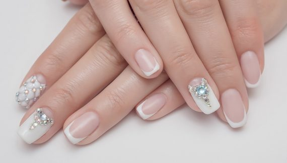 dise os de u as con gelish decoradas elegantes