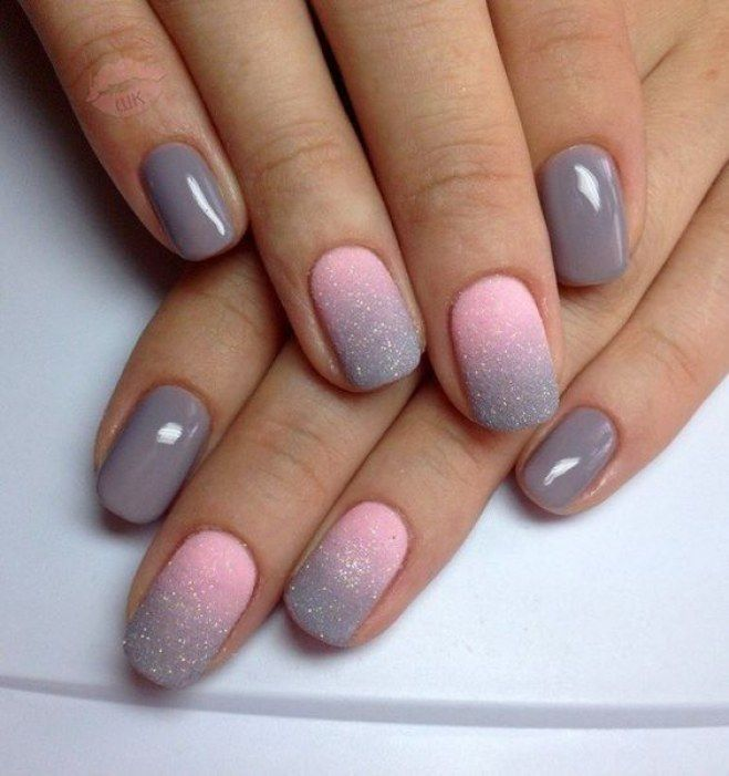 Dise os de u as con gelish decoradas elegantes - Unas decoradas con esmalte ...