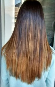 Mechas Californianas Degradadas